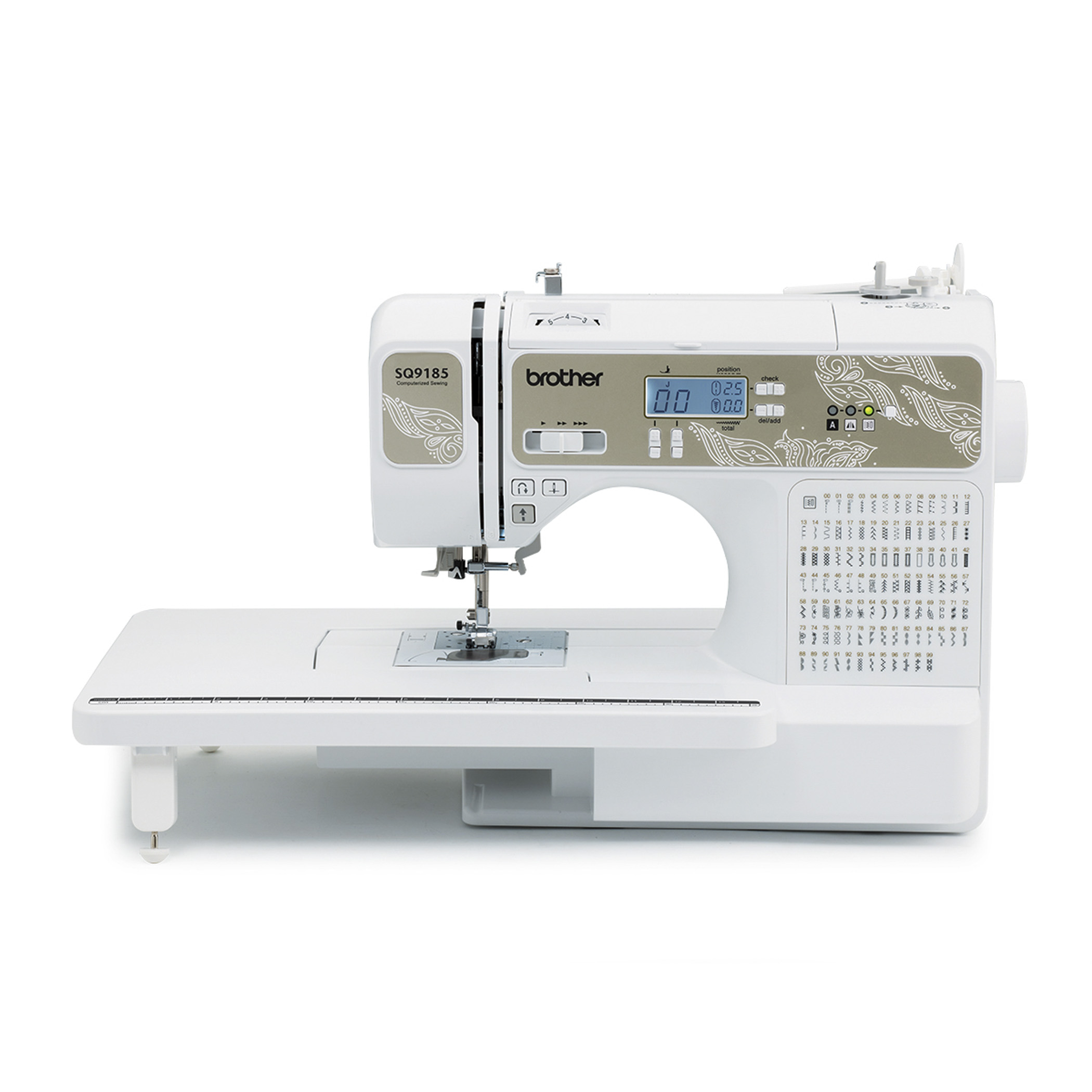 Brother Sq9185 130 Stitch Sewing Amp Quilting Machine Walmart Inventory Checker Brickseek