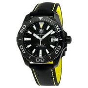 Tag Heuer Aquaracer Automatic Black Dial Mens Watch WAY218A.FC6362