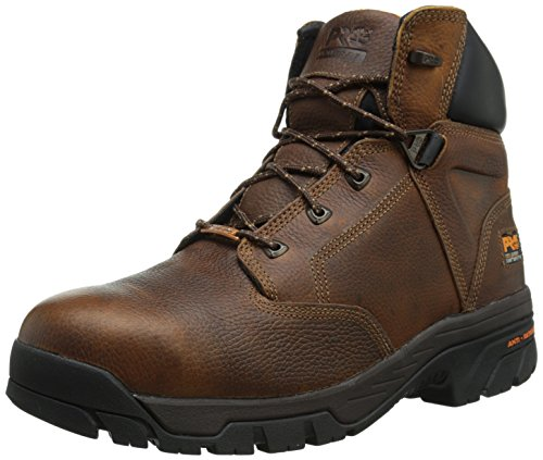 Timberland PRO Men's Helix 6 Inch Titan Safety Toe Work Boot,Brown,9.5 M US by Timberland PRO