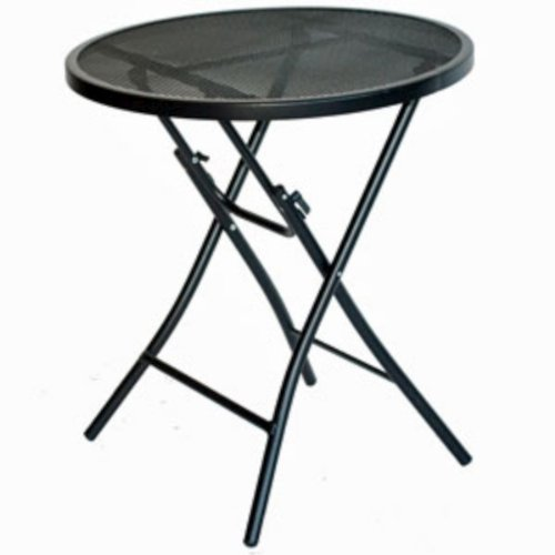 Prime Products Bistro Steel Table - Black
