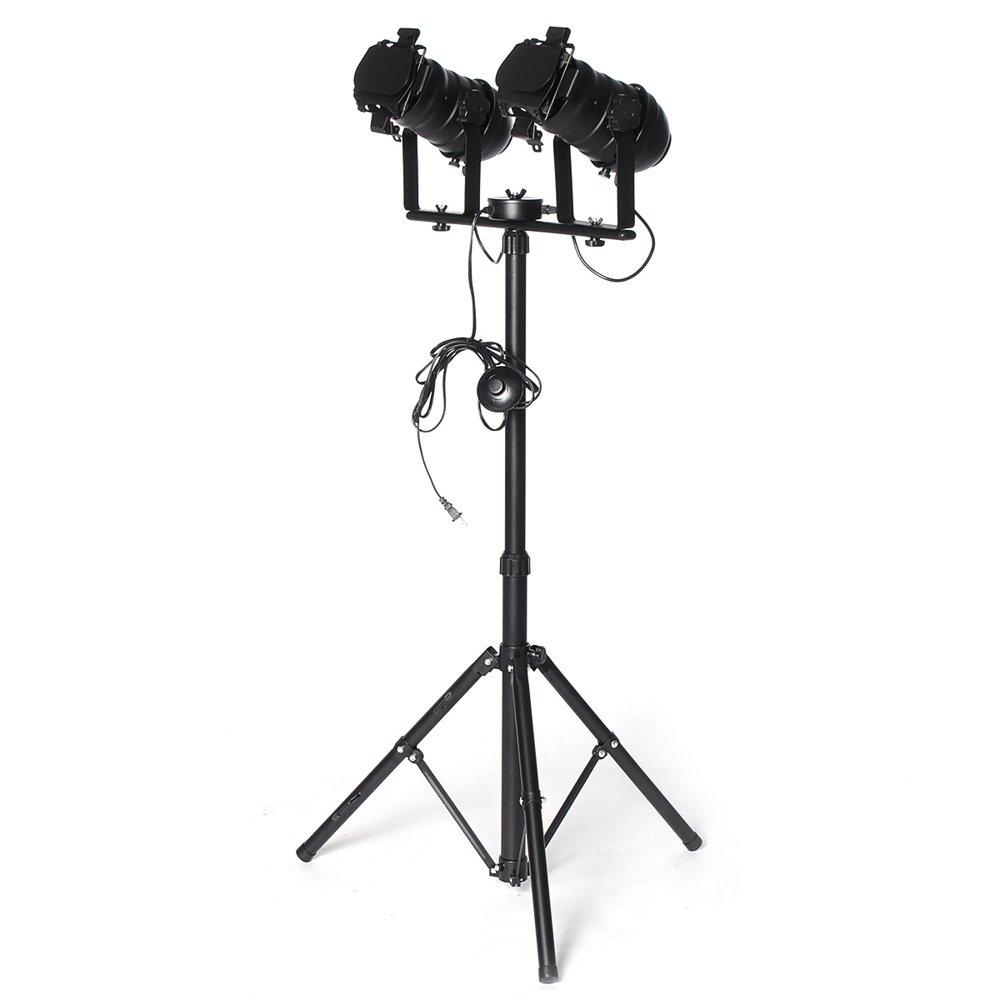 Industrial Floor Lamp for Living Room, Adjustable Height ...