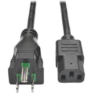 Tripp Lite 25ft Hospital-Grade Computer Power Cord (NEMA 5-15P to IEC-320-C13)