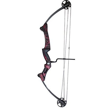 Team Carbon Riser (SAS Primal 35-50 lbs Target Compound Bow 40 1/2 ATA with Red Riser and Carbon Limbs )