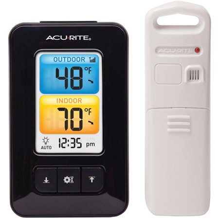 Image of AcuRite Digital Thermometer Color Display 02029