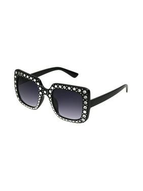 3c55f8d91a Product Image Foster Grant Women S Black Square Sunglasses Y06