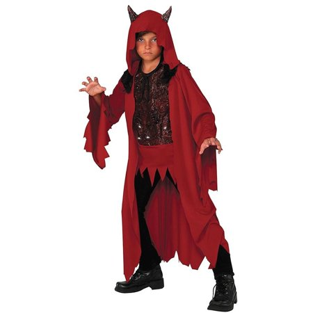 Glowing Devil Deluxe size S 4/6 Red Costume Rubie's](Red Devil Accessories)