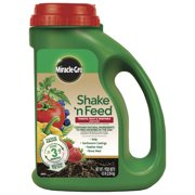 Miracle-Gro Shake 'N Feed Tomato, Fruit & Vegetable Plant Food, 4.5 lb