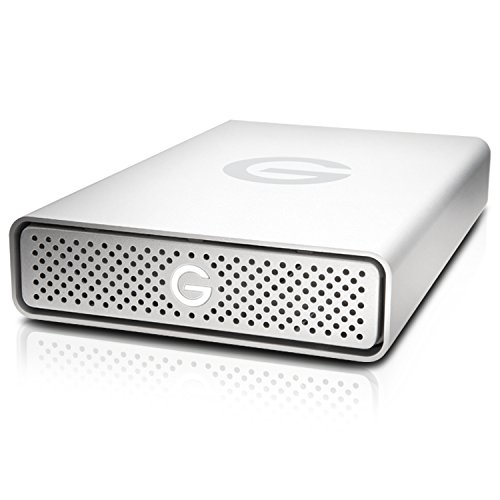 G-Technology G-DRIVE 10 TB External Hard Drive (White)