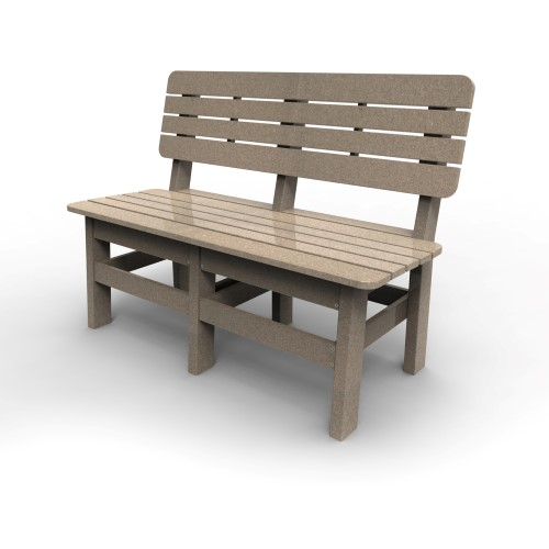 Country Bench by Malibu Outdoor, Sand - 48''