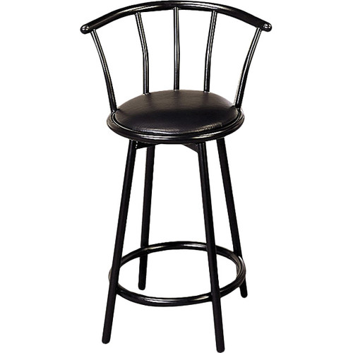 Wildon Home 24'' Swivel Bar Stool (Set of 2) by Windward Furniture