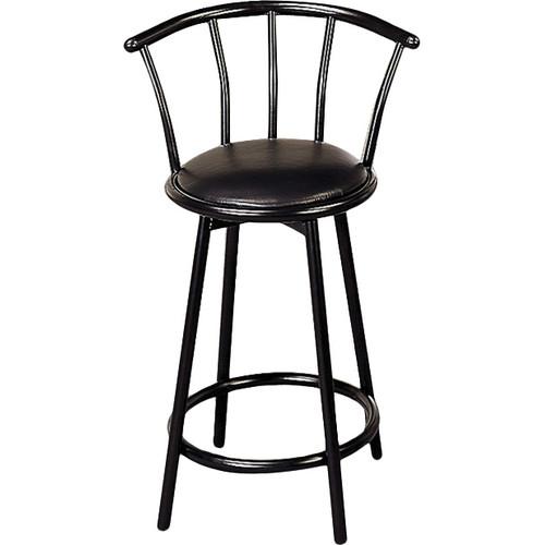 Coaster Black 24 Bar Stool (Set of 2) 2395