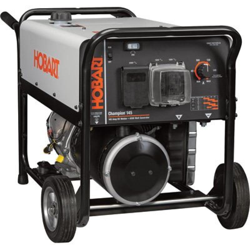 - Hobart Champion 145 Welder Generator 10 HP, 4,500 Watts, Model# 500563 by
