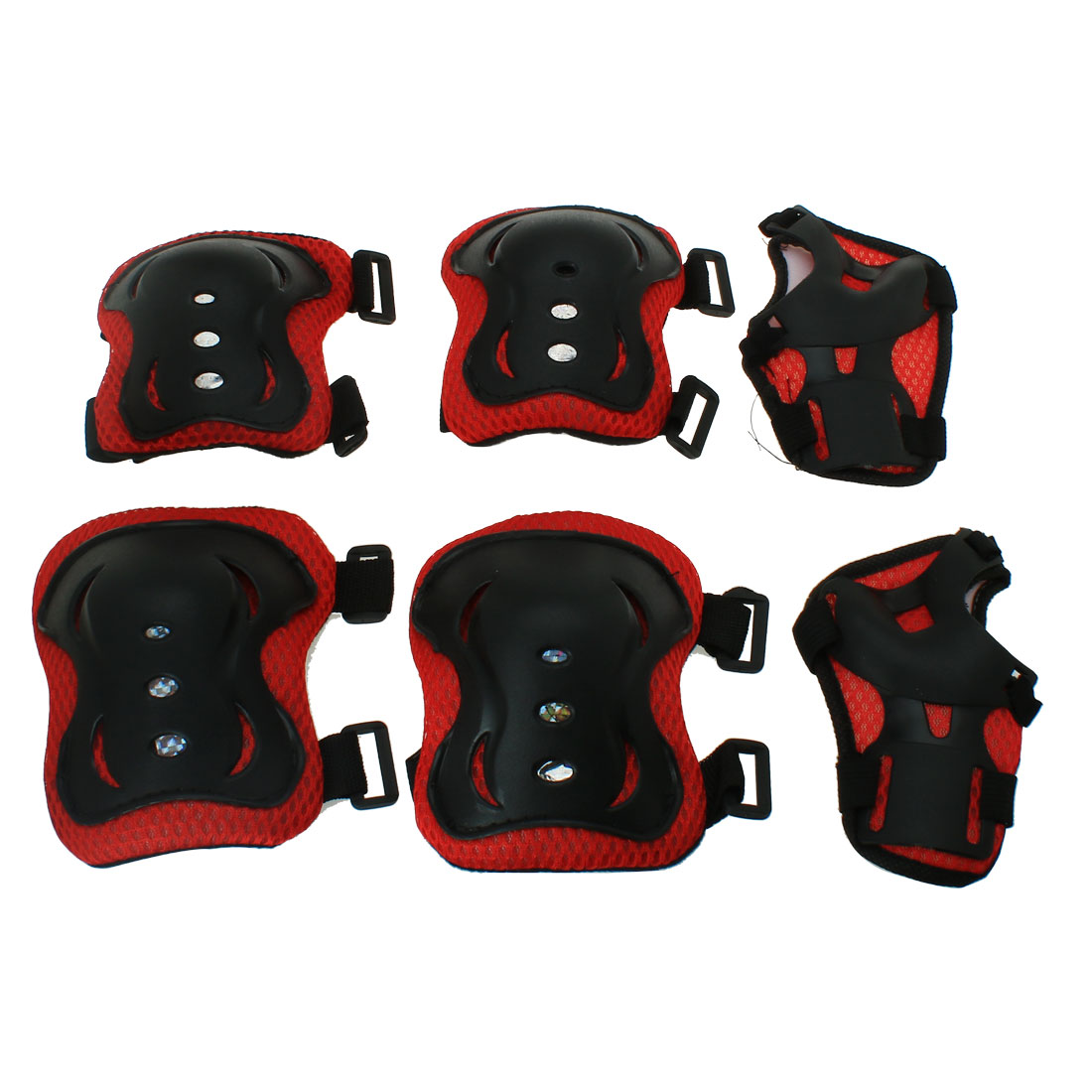 6pcs Kids Elbow Knee Pads Palm Wrist Guard Set Protective Gear