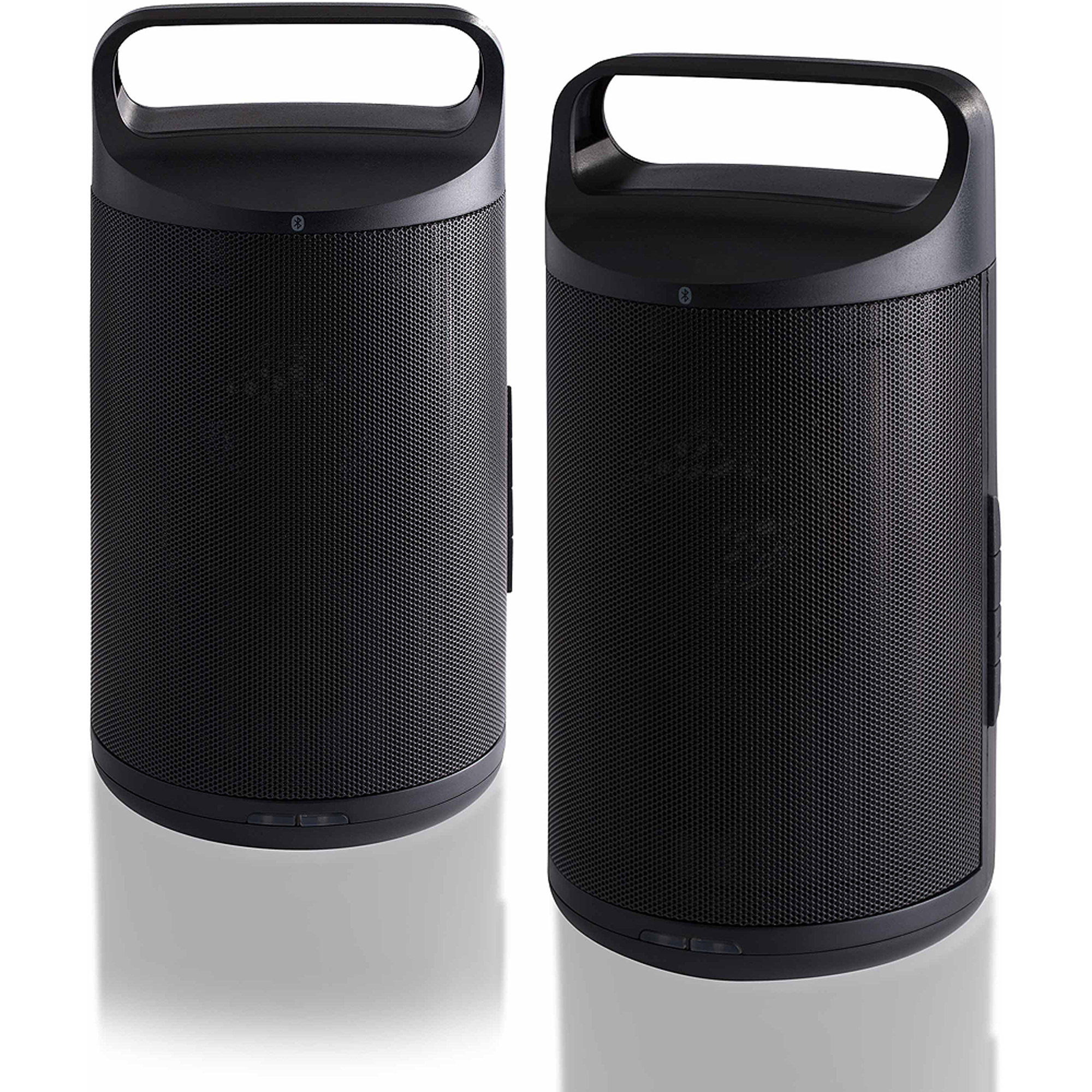 Blackweb RIFT Portable Wireless Bluetooth Speakers, Set of 2