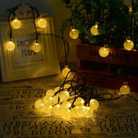 Edison Outdoor String Lights Better homes and gardens outdoor glass edison string lights 10 agptek 197ft 30 led crystal ball solar powered outdoor strin workwithnaturefo