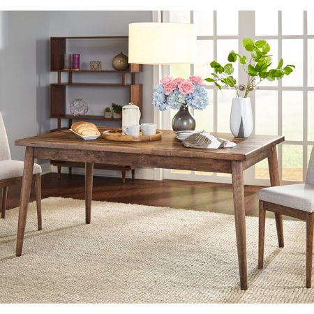 TMS Element MidCentury Dining Table Walmart Fascinating Century Dining Room Tables