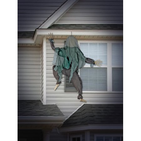 Wall Climbing Zombie Decoration Halloween Decoration