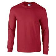 Gildan Men's 100 Percent Cotton Long Sleeve T-Shirt. G2400
