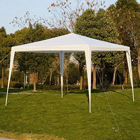 Garden Pavilion - 10'x10'Outdoor Canopy Party Wedding Tent Garden Gazebo Pavilion Cater Events
