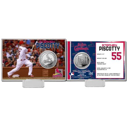 Stephen Piscotty St. Louis Cardinals Highland Mint Mint Player Silver Collector Coin Card - No Size