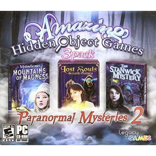 Amazing Hidden Object Games 3 Pack - Paranormal Mysteries - PC