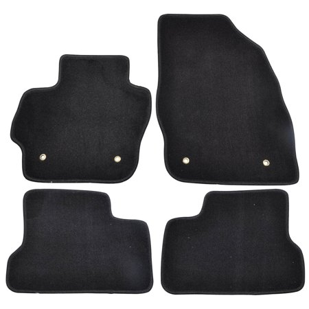 Fits 10-13 Mazda 3 OEM Factory Fitment Car Floor Mats Front & Rear Nylon ()