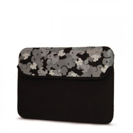 MobileEdge Sumo - 8.9-Inch Camo Kindle DX, Netbook Sleeve fits all iPad generations including iPad4 (Black)
