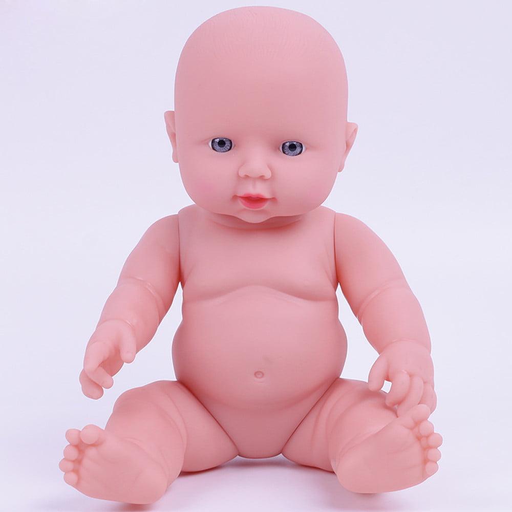 Mosunx Baby Emulated Doll Soft Children Reborn Baby Doll Toys Boy Girl Birthday Gift PK