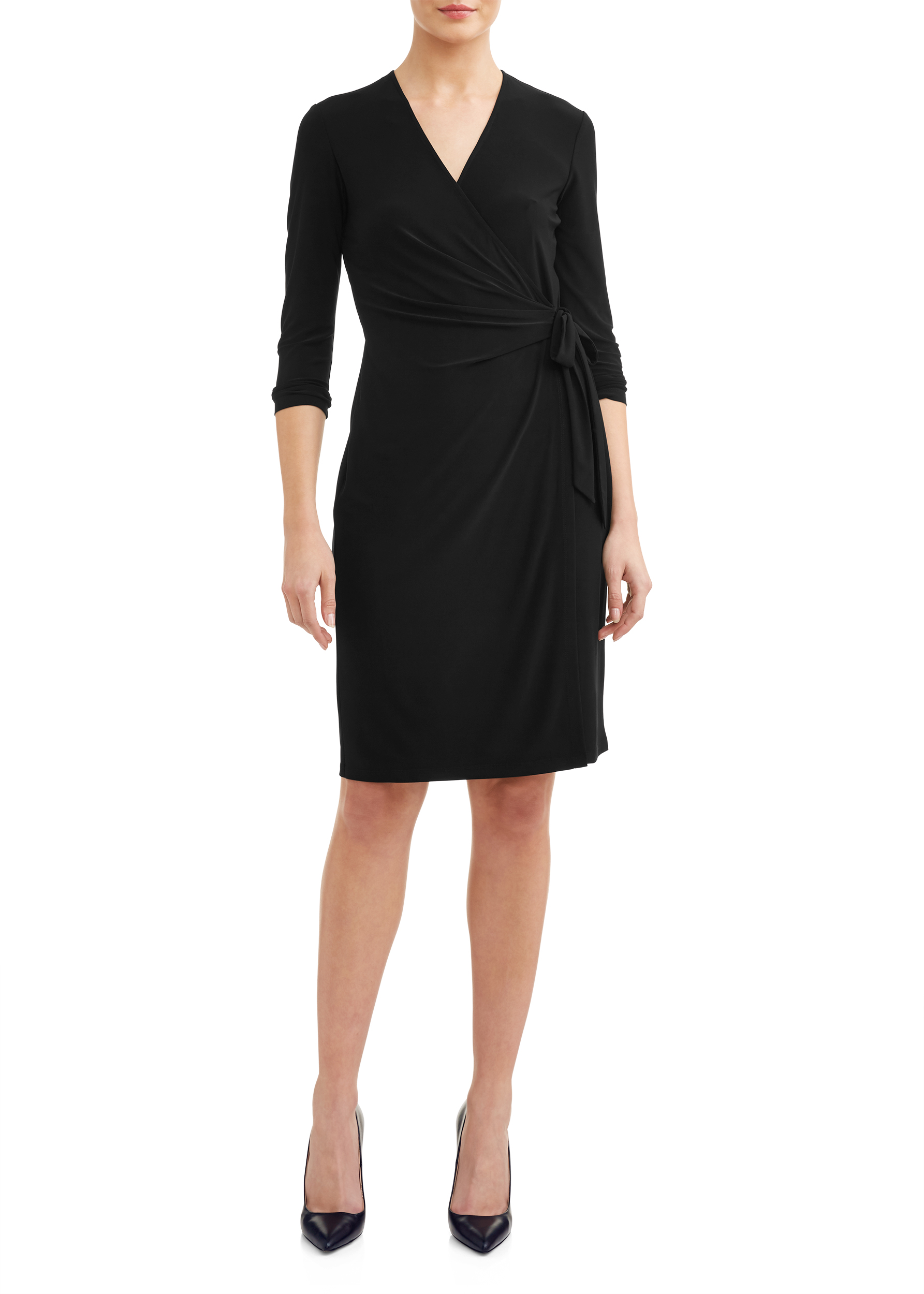 Women's Essential Wrap Dress