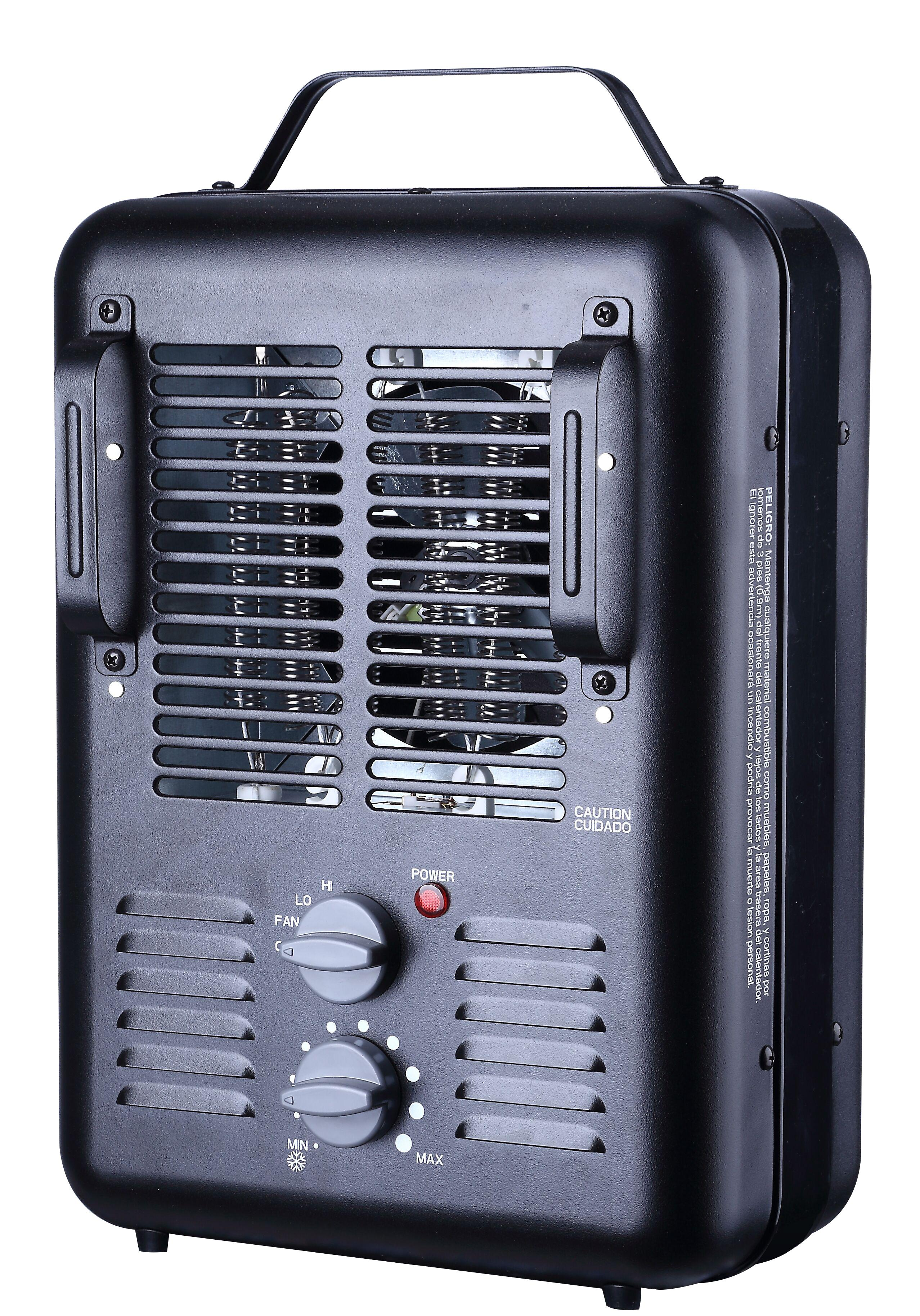 Hdb 2 Room Heater: Utility 'Milkhouse' Style Electric Space Heater #DQ1702