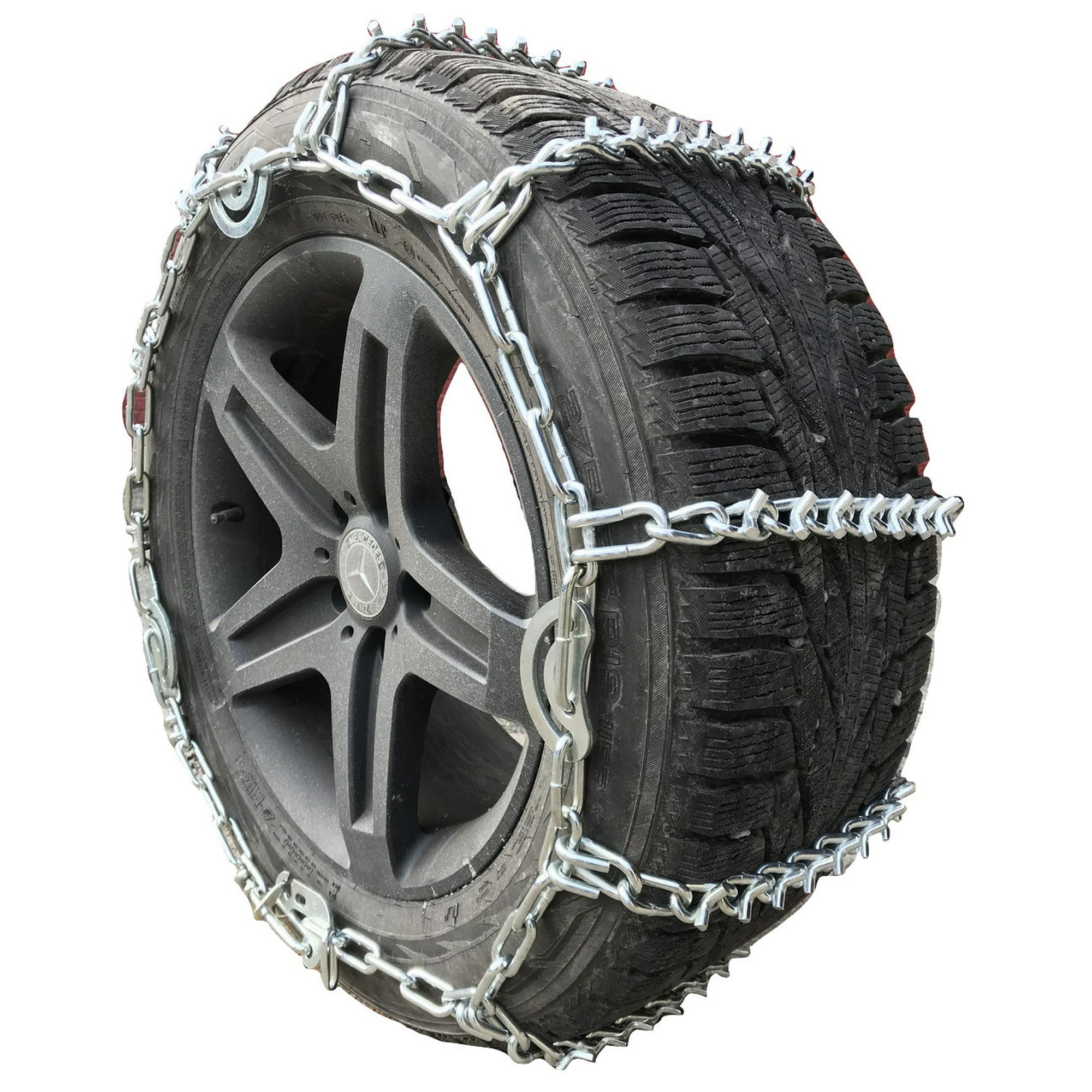 Snow Chains 38X12 50-16 5 Boron ALLOY Cam V-BAR Tire Chains