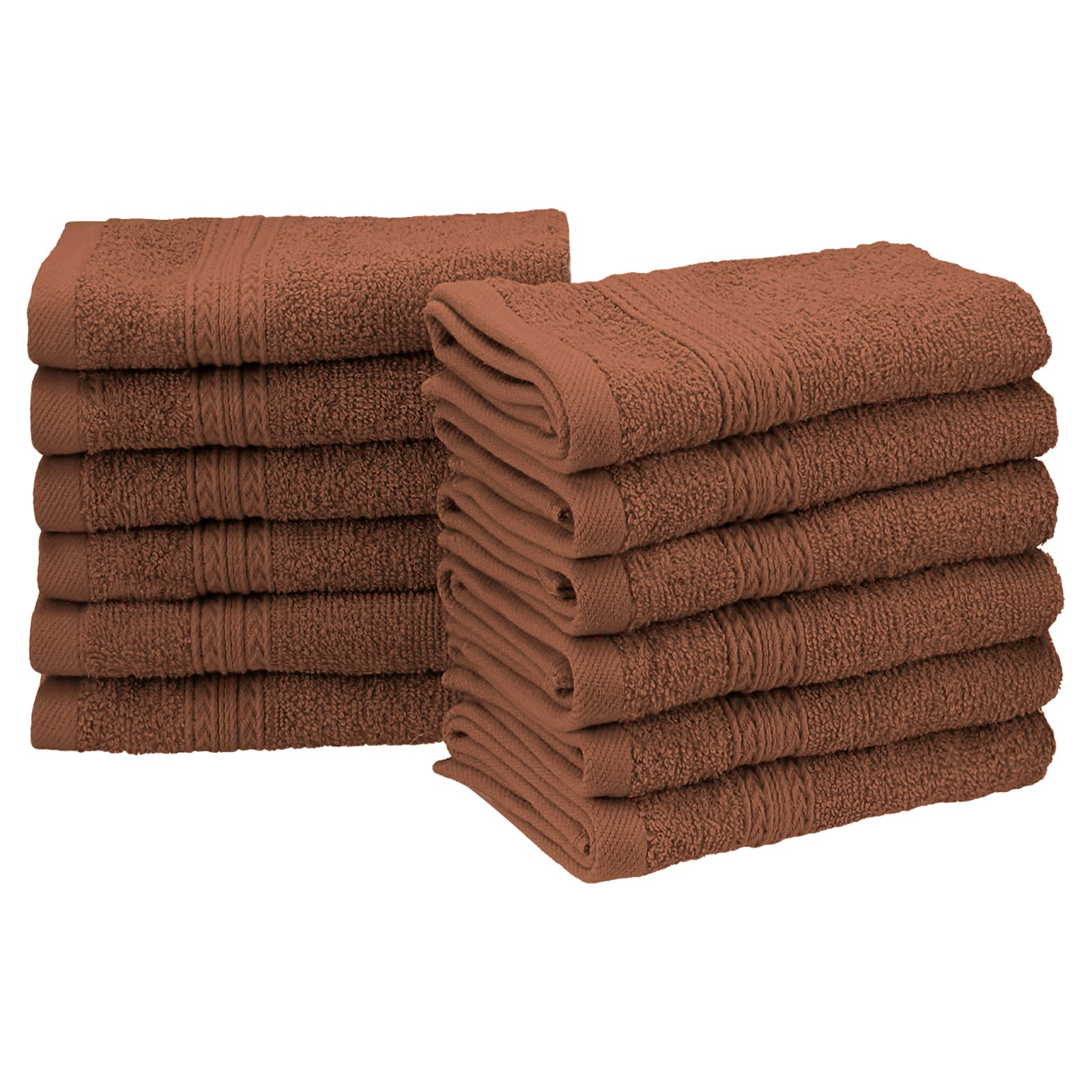 Superior Eco-Friendly 100% Ringspun Cotton 12Pc Face Towel Set by Supplier Generic