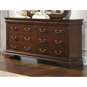 Liberty Cherry Louis Philippe 8-drawer Dresser