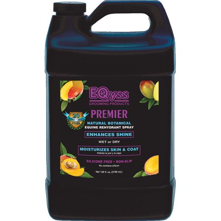 Premier Grooming (Eqyss Grooming Products D-Premier Natural Botanical Equine Rehydrant Spray 1 Gallon)