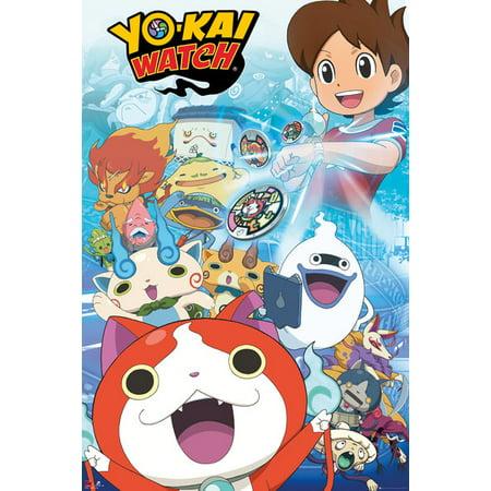 Yo-Kai Watch - Manga / Anime TV Show Poster / Print (Characters) (Size: 24