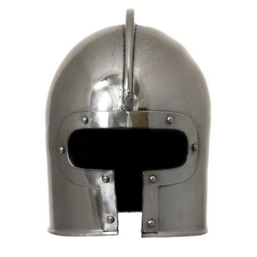 EC World Imports Antique Replica 15th Century Italian Barbuta Battle Amor Helmet by EC World Imports