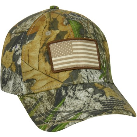 Americana Camo Cap, Mossy Oak Obsession Camo, Flexible (Medium Burner Cap)