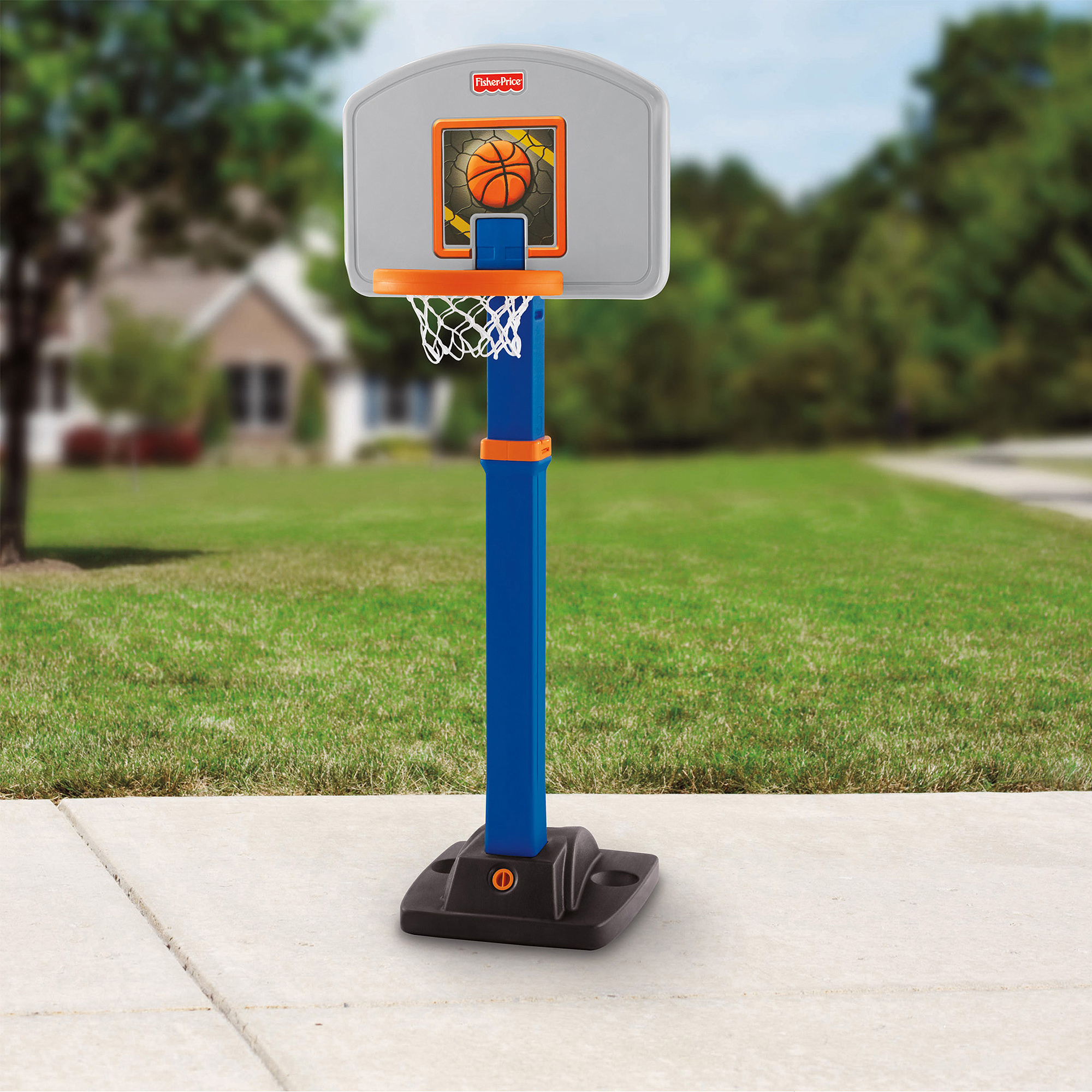 Fisher-Price Grow 2 Pro Basketball