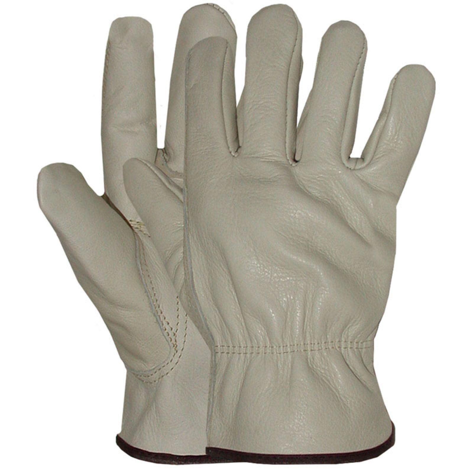 Boss 4067L Large Standard Grade Grain Cowhide Leather Driver Gloves