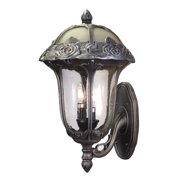 Rose Garden F-3717-SW-SG Large Bottom Mount Light with Seedy Glass