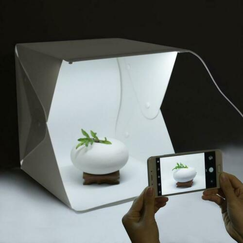 Standard Shibusa Home Photo Studio Lightbox with Bonus 360/° Turntable