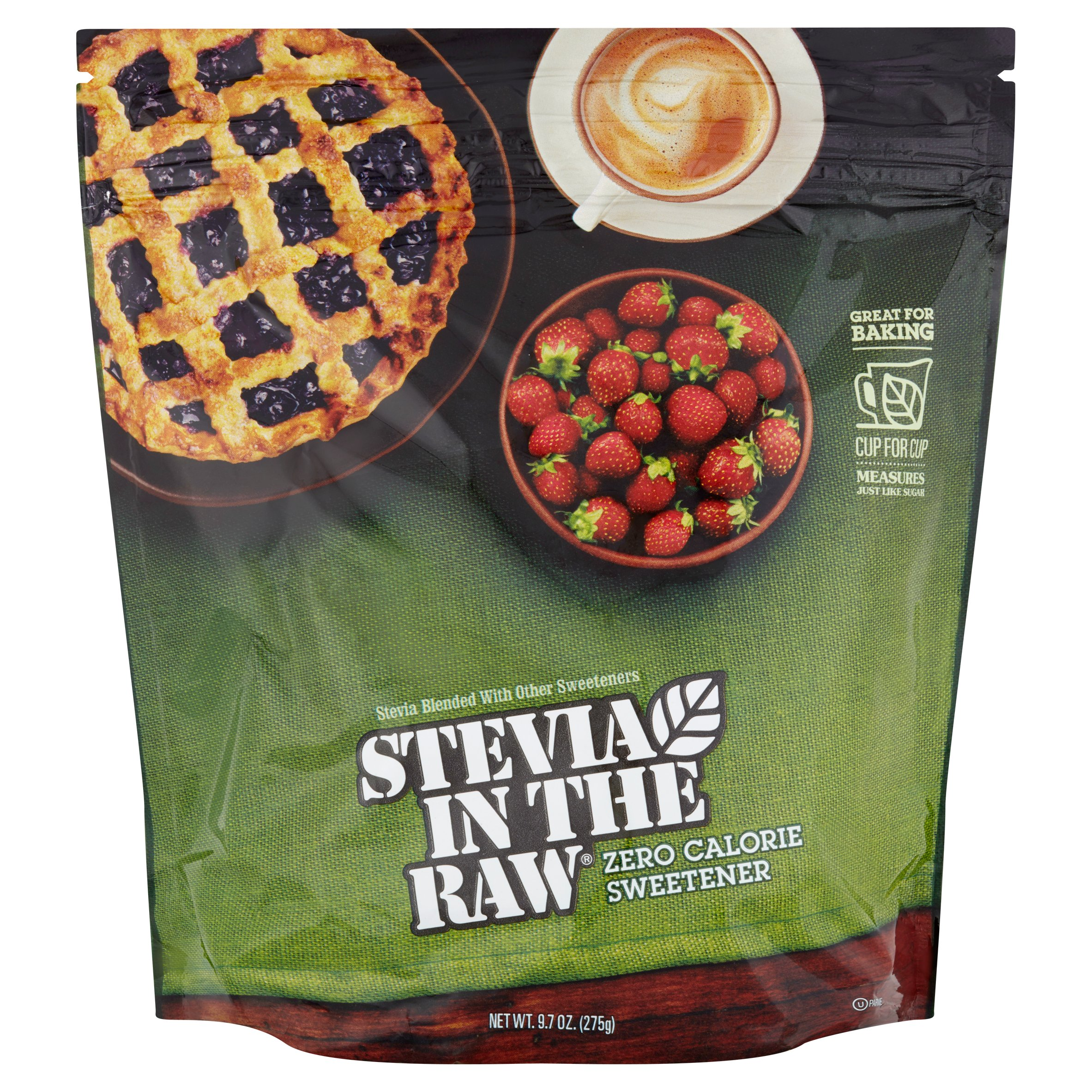 Stevia Extract Sweetener  In The Raw, 9.7 OZ