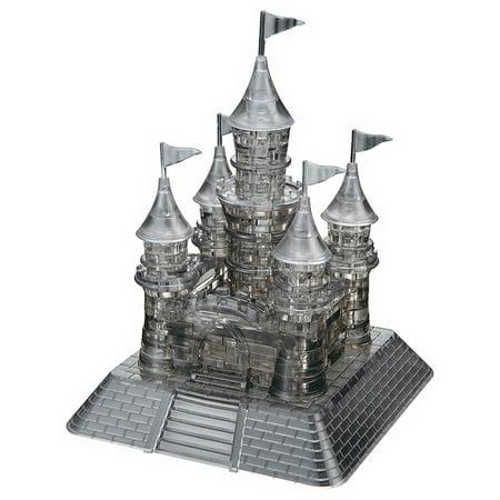 3D Crystal Puzzle Black Castle Puzzle  104 Pieces