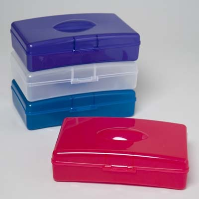 Plastic Pencil Box Case Pack 48
