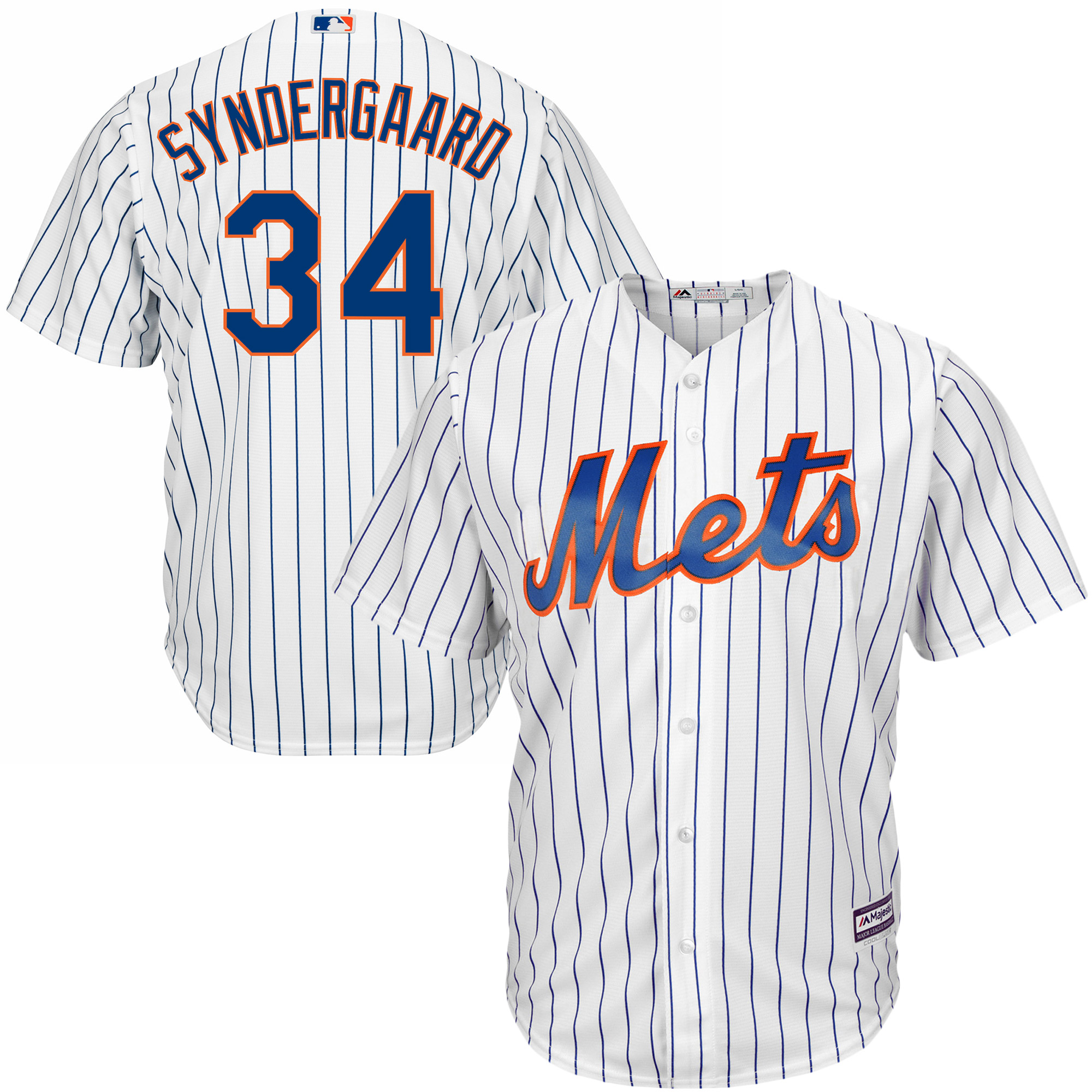 7919a250e ... wholesale noah syndergaard new york mets majestic official cool base  player jersey white walmart cd784 fb355