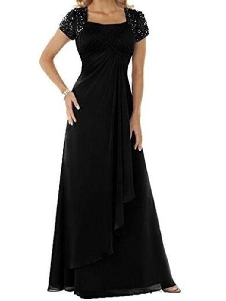 SySea - Evening Dress Plus Size High Waist Chiffon Fashion ...