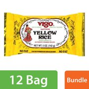 (132 Pack) Vigo Yellow Rice, Saffron, 5 oz