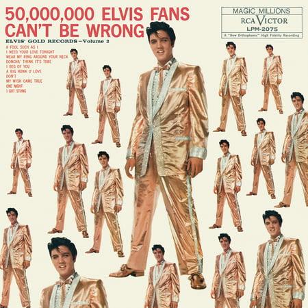 Elvis Presley - 50,000,000 Elvis Fans Can't Be Wrong: Elvis' Gold Records, Volume 2 - Vinyl