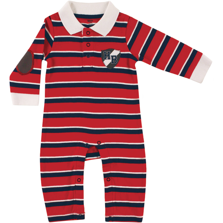 Hudson Baby Newborn Baby Boys and Girls Long Sleeve Bodysuit