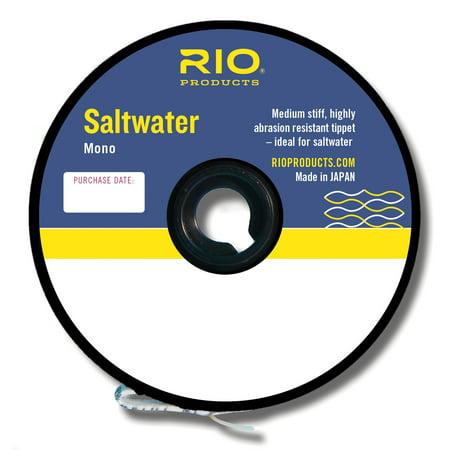 RIO Saltwater Mono Medium Stiff/Abrasion Resistant Fly Fishing Tippet - All
